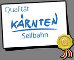 Kärnten Qualität - DIE Qualitätsauszeichnung für Seilbahnen im Land
