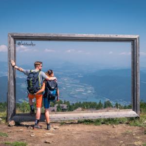 Prächtiger Panoramablick über Kärntens idyllische Berg- und Seenlandschaft