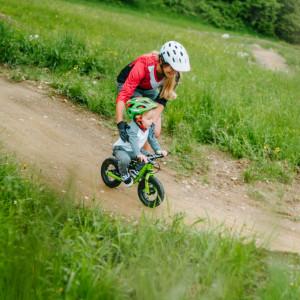 Der Kids Bikepark im Funpark Gerlitzen Kanzelbahn