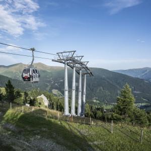 Die Biosphärenparkbahn Brunnach - per Seilbahn direkt in den Biospärenpark