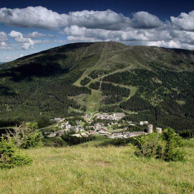Katschberg im Sommer - Blick auf das Aineck