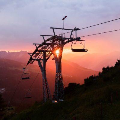 Sonnenuntergangsstimmung am Gartnerkofel