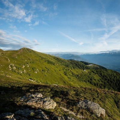 Wandergebiet Goldeck - Rundwandermöglichkeiten, oberhalb der Baumgrenze, Pracht-Panorama inklusive