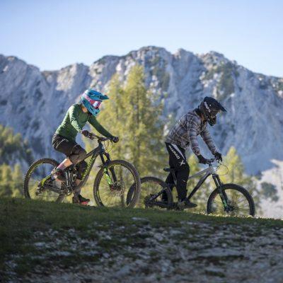 Bike-Paradies mit eindrucksvoller Alpin-Kulisse