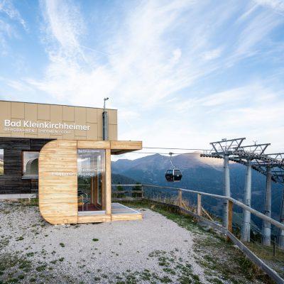 Massage & Entspannung im Thermen-Cube, bei der Bergstation Brunnach