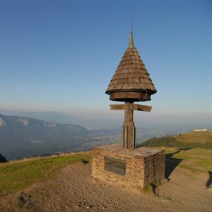 Der höchste Punkt am Dreiländereck - am Schnittpunkt zwischen Kärnten, Friaul und Slowenien