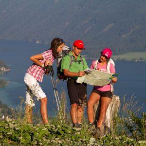 Die Bergstation der Weissensee Bergbahn ist ein idealer Ausgangspunkt für Wanderungen