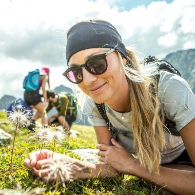 Die alpine Flora wartet mit nicht alltäglichen Pflanzen auf