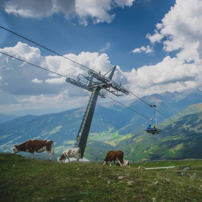 Ausblick oben am Aineck (2.220 m)