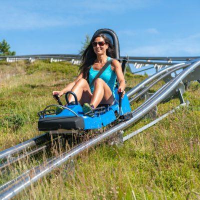 Von der Bergstation der Panoramabahn geht es mit dem Nocky Flitzer talwärts