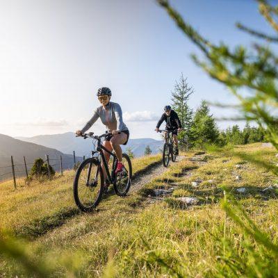 Biken bis auf den Gipfel