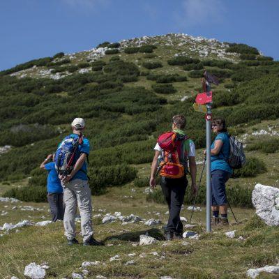 Wanderparadies, an der Grenze zwischen Kärnten und Slowenien