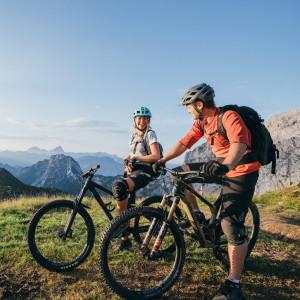 Nassfeld - zahlreiche Naturtrails warten auf die Mountainbiker