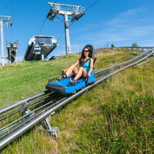 Der Nocky Flitzer startet bei der Bergstation der Panoramabahn