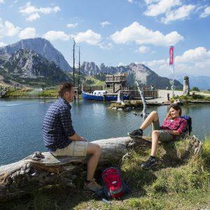 Nassfeld - der Aqua Trail bietet Berg-See-Idylle für die ganze Familie