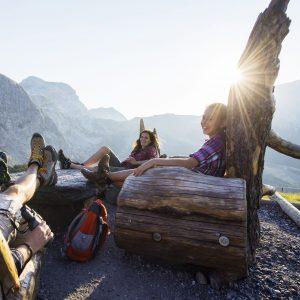 Nassfeld - Familienwanderidylle auf sanften Almen, umrahmt von einer imposanten Bergwelt