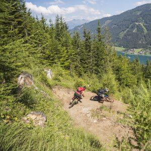 Weissensee - attraktive Naturtrails versprechen Flow am Weg talwärts zum See