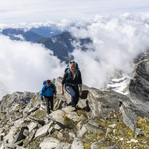 Die Ankogelbahn-Bergstation ist Ausgangspunkt vieler Bergtouren | Foto: Hochgebirgsbahnen Ankogel/F. Gerdl