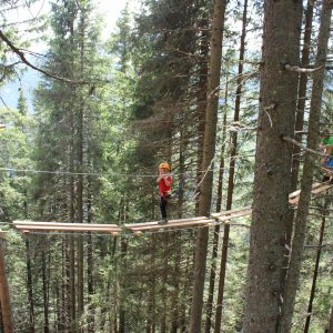 Spaß & Kick für Klein & Groß im Erlebnisklettergarten am Klippitztörl | Foto: Bergbahnen Klippitztörl