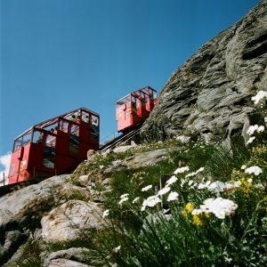 Die Großglockner Gletscherbahn auf der Kaiser-Franz-Josefs-Höhe liefert interessante Einblicke in die Geschichte des Pasterzen-Gletschers