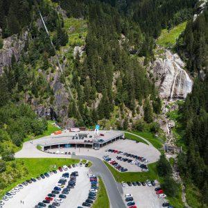 Talstation der Mölltaler Gletscherbahnen