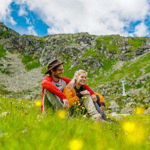 Hochalpine Naturidylle am Mölltaler Gletscher