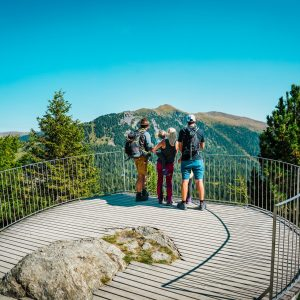 Die Kinder Erlebnis-Welt Nocky's AlmZeit bei der Bergstation der Panoramabahn auf der Turracher Höhe